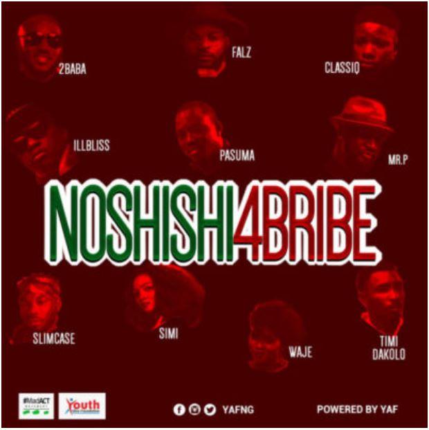 Lyrics:  No Shishi For Bribe