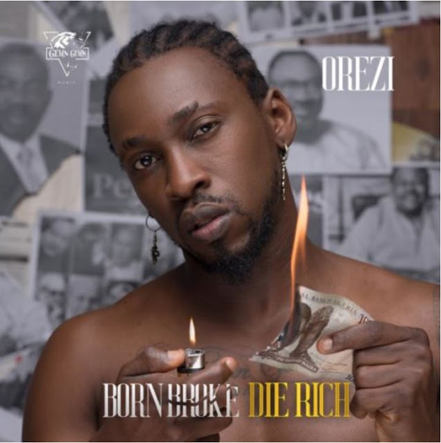 """Born Broke Die Rich"" by Orezi"